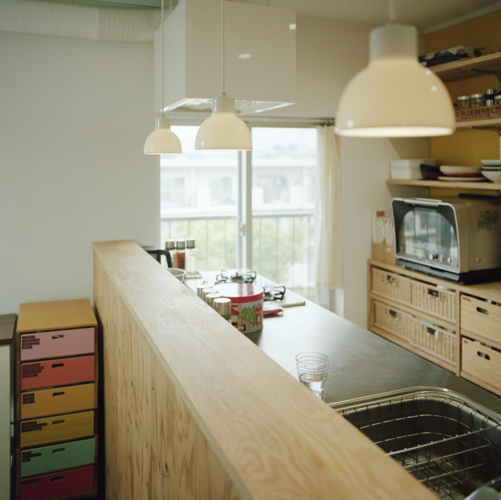 こどもと成長する家 (キッチンカウンター)