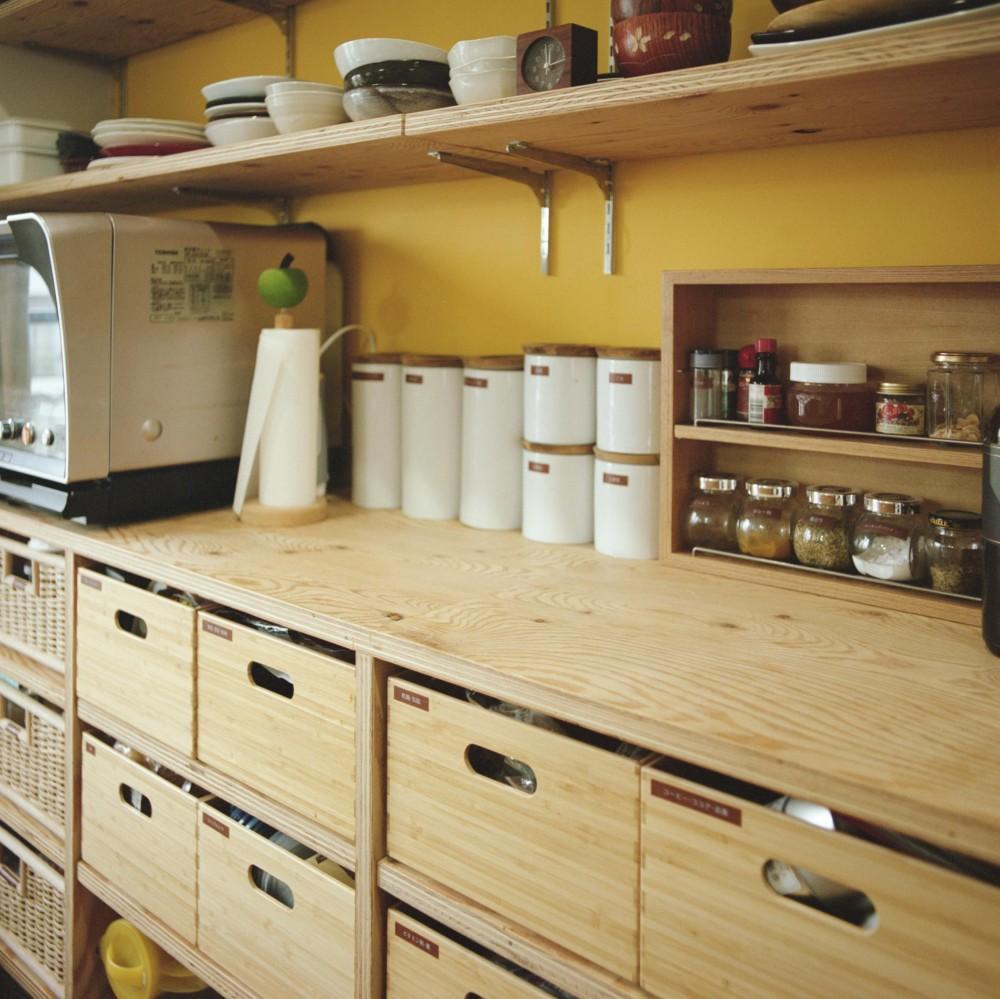 キッチン (こどもと成長する家)