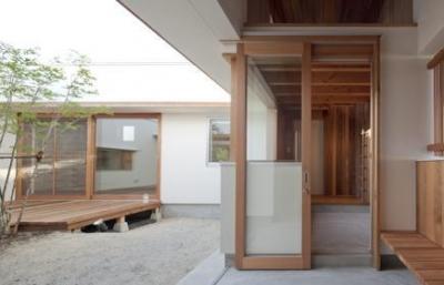 高浜の家 (中庭)
