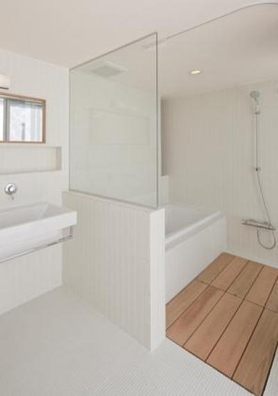 高浜の家 (浴室洗面)