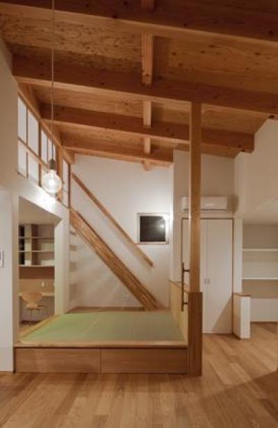 東谷の家 (居間・食堂)