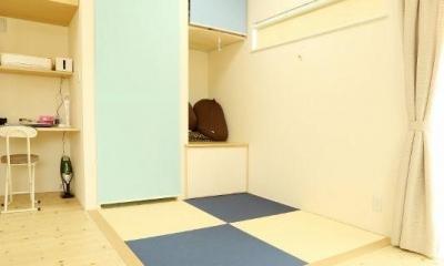 畳コーナー|優しさを感じる家
