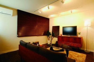 ミッドセンチュリーの家具に合わせた、60's Style提案 (リビング)