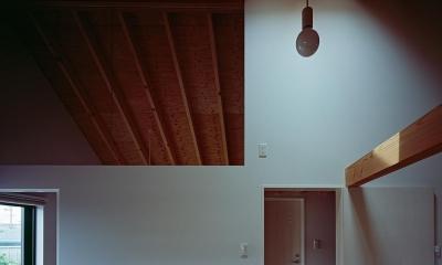 『蒲郡の家』~土間のダイニングキッチンのある家~ (天窓のあるこども部屋)