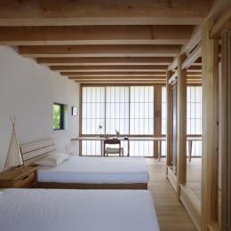 八ヶ岳の山荘 (ベッドルーム)
