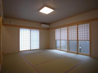 明るい和室 (harutaF邸)