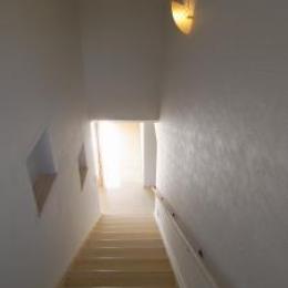 Wak邸 (シンプルな階段)