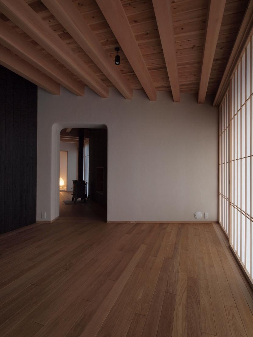 八ヶ岳の山荘 (居室)