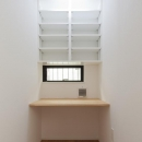 匠陽の住宅事例「黒皮のソファが似合う家:杉並区K様邸」