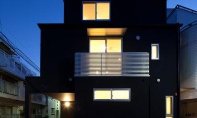 フォルムがユニークでコケティッシュなデザインハウス:杉並区M様邸