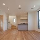 匠陽の住宅事例「フォルムがユニークでコケティッシュなデザインハウス:杉並区M様邸」
