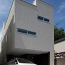 フィルムの美しい階段のある注文住宅:杉並区T様邸の写真 外観