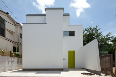 スタイリッシュなデザイン住宅・光の満ちる贅沢空間:杉並区K様邸 (外観)