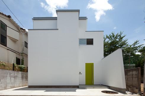 スタイリッシュなデザイン住宅・光の満ちる贅沢空間:杉並区K様邸の部屋 外観