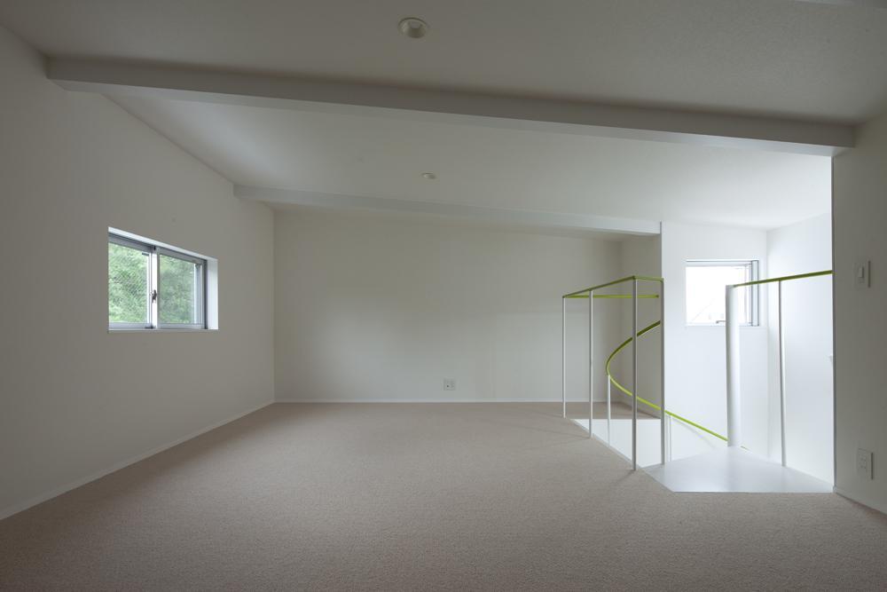 スタイリッシュなデザイン住宅・光の満ちる贅沢空間:杉並区K様邸の部屋 ロフト
