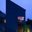 たまらん坂の家の写真 外観夕景