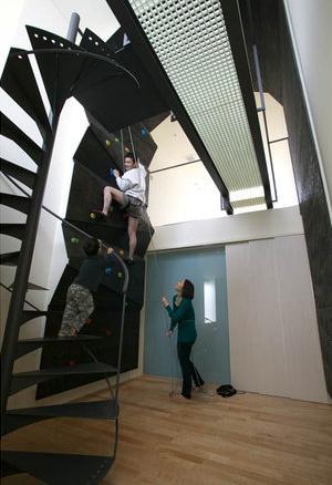 ロッククライマーの家の写真 親子で楽しめるロッククライミング