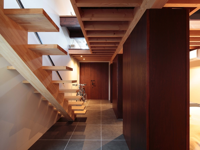 たまらん坂の家の部屋 階段