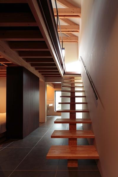 たまらん坂の家 (階段)
