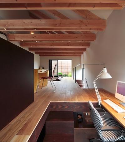 書斎 (たまらん坂の家)