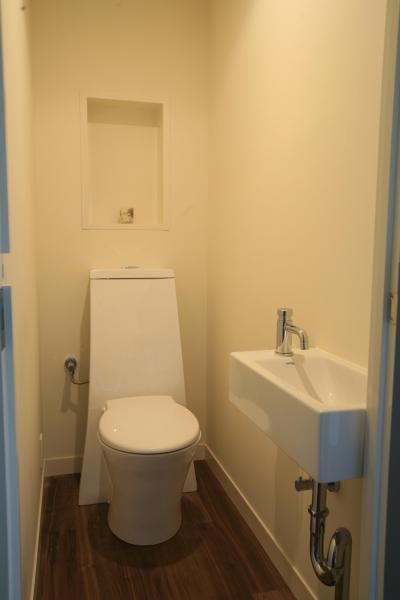 すっきりと清潔感あるのトイレ (Y邸)