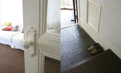 F邸 (こだわりを表現できるドアノブ、玄関)