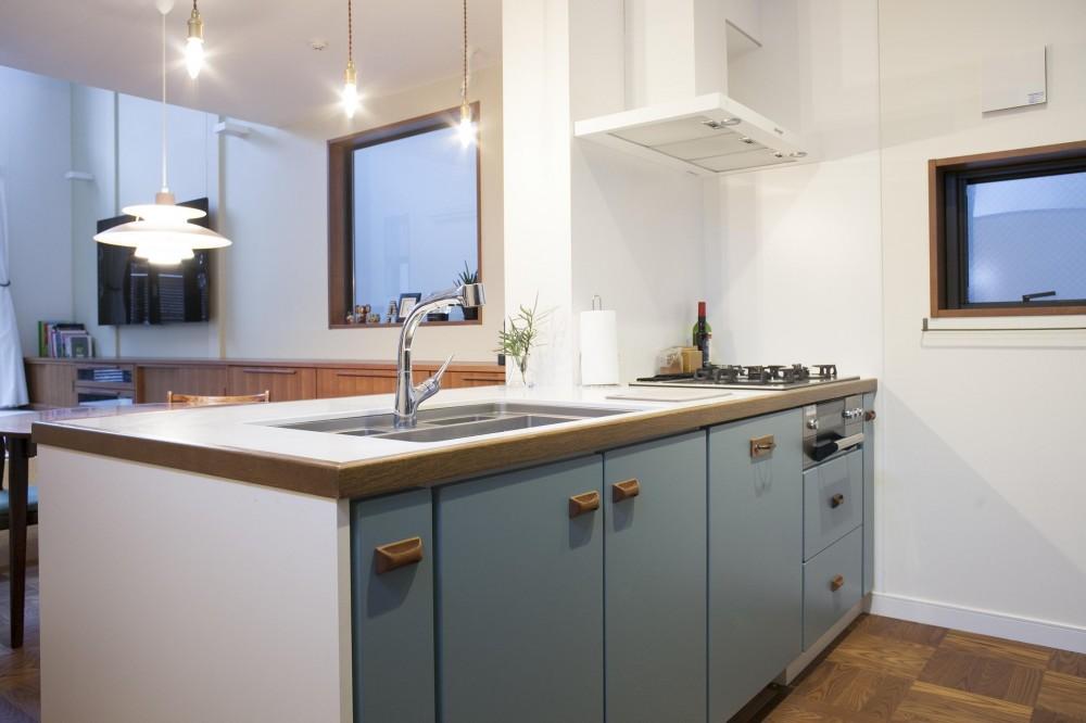 K邸 (使い勝手とデザイン性が融合されたキッチン)
