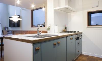 使い勝手とデザイン性が融合されたキッチン|K邸