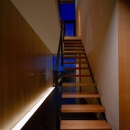 あざみ野の家の写真 階段