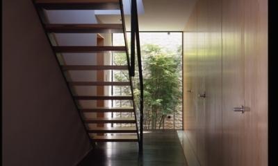 あざみ野の家 (階段)
