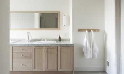 M邸 (デザイン性と使い勝手を考えられた洗面台)