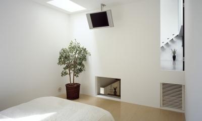 鷺沼の家 (ベッドルーム)