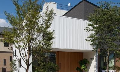 外観|釜石の店舗併用二世帯住宅