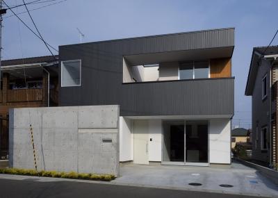 滝道の家 (外観)