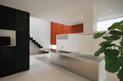 滝道の家 (ダイニングキッチン)