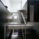 鷺沼の家の写真 階段