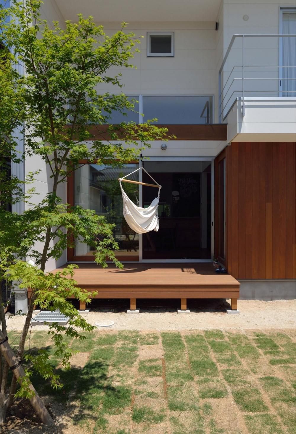桜水の家 (ウッドデッキ)