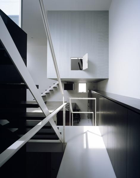 鷺沼の家 (階段)