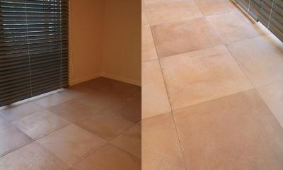 T邸 (淡い色の床材で柔らかい印象の空間づくり)