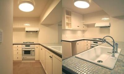 T邸 (すっきり収納の使いやすいキッチン)