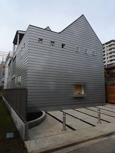 木造3階の家 (外観)
