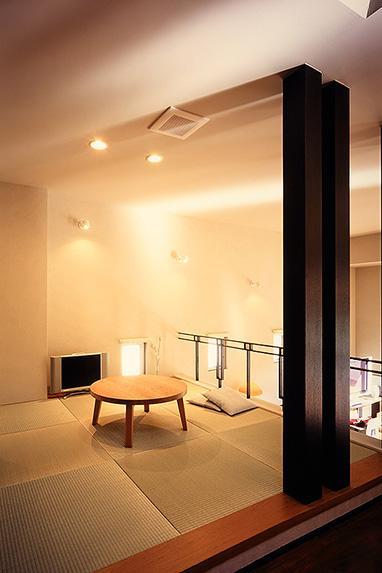 「池上台の家」の部屋 和モダンな畳コーナー