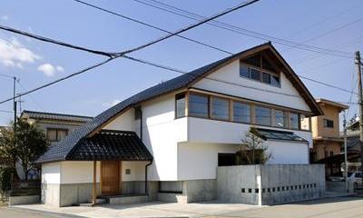 ひとつ屋根の外観|ひとつ屋根の家