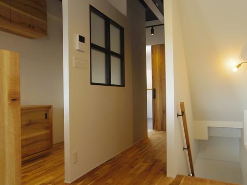 路地裏にあるショップの様な家の部屋 2階スペース