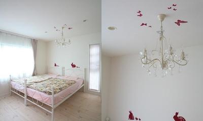 N邸 (明るい女の子らしい雰囲気の子供部屋)