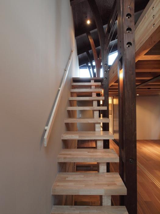 代々木上原の家の部屋 階段