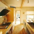 三角敷地の家 キッチンスタジオ