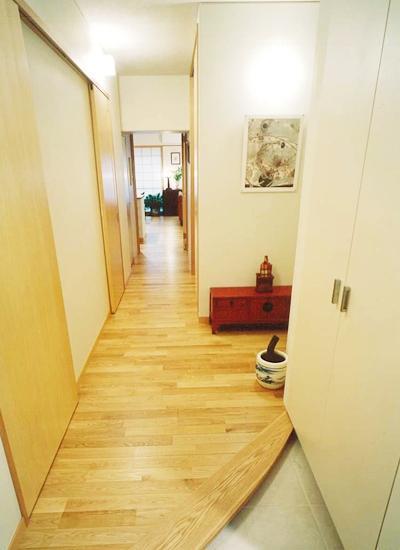暮らしを楽しむためにの部屋 広く明るくなった玄関まわり