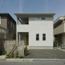 谷村 茂の住宅事例「2階が生活拠点のシンプルな家」