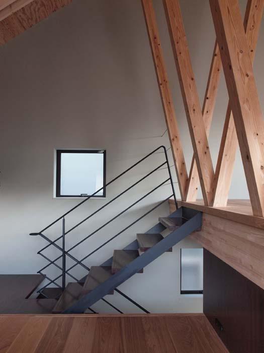 深沢の家の部屋 階段